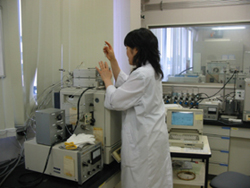 Gas chromatography(FID) Analysis of lower fatty acid