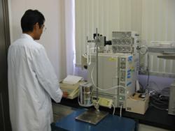 ガスクロマトグラフ(FPD) S化合物分析