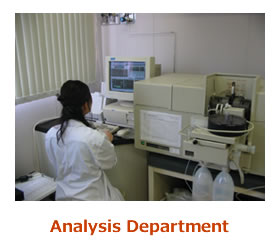 Analysis Department